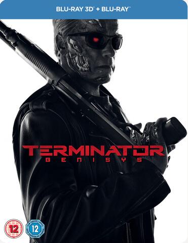 Terminator Genisys 3D (Includes 2D Version) - Zavvi Exclusive Limited Edition Steelbook