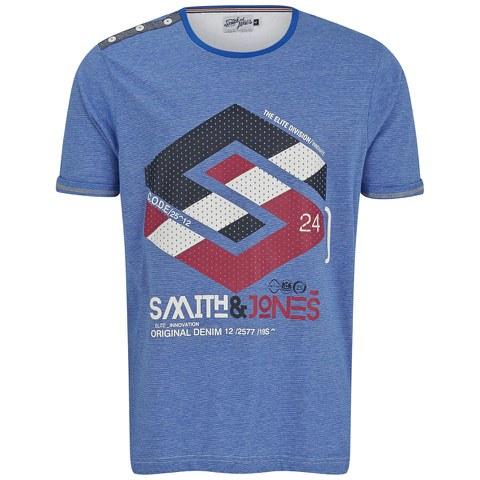 Smith & Jones Men's Stoneleigh T-Shirt - Le Mans Blue Marl