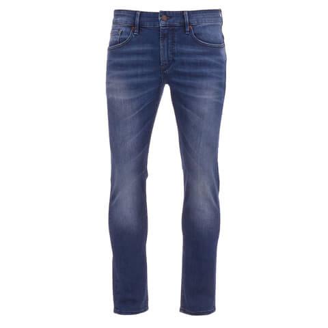 BOSS Orange Men's Orange 72 Skinny Fit Jeans - Stone Wash