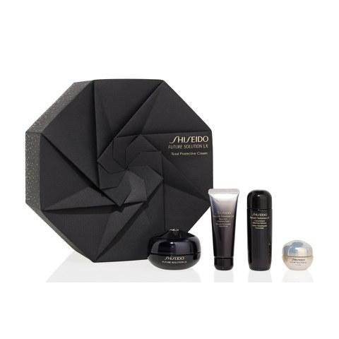 Kit de Vacaciones Crema para Ojos y Labios Shiseido Future Solutions LX