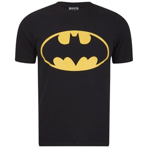 DC Comics Batman Men's Logo T-Shirt - Black