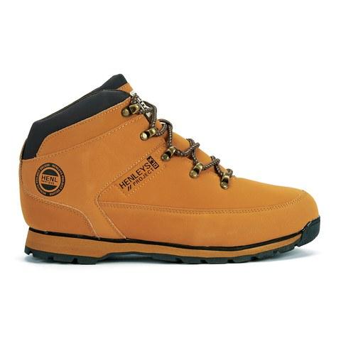 Henleys Men's Hiker Boots - Honey