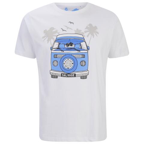 Salvage Men's Campervan T-Shirt - Optic White