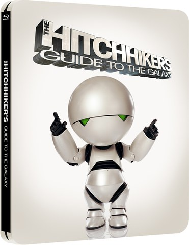 The Hitchhikers Guide to the Galaxy - Zavvi exklusives (UK Edition) Limited Edition Steelbook