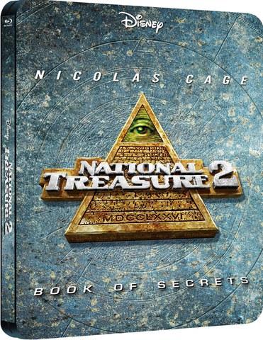 National Treasure 2: Book of Secrets - Zavvi Exclusive Edition Steelbook