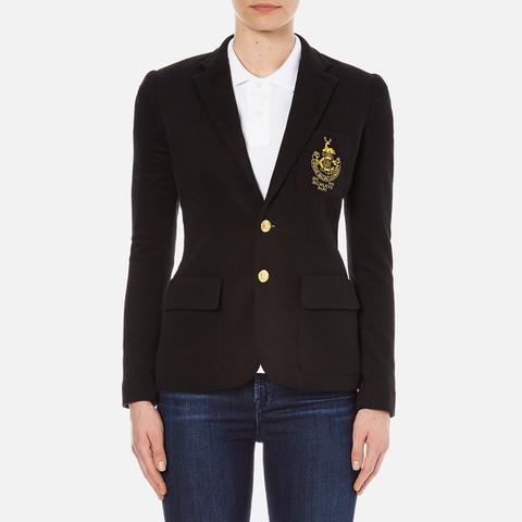 Polo Ralph Lauren Women's Custom Blazer - Polo Black