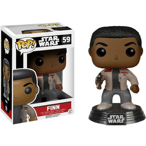 Star Wars The Force Awakens Finn  Funko Pop! Figuur