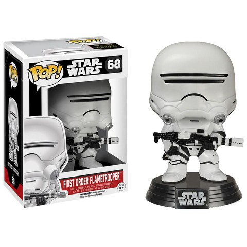 Star Wars The Force Awakens First Order Flametrooper  Funko Pop! Figur