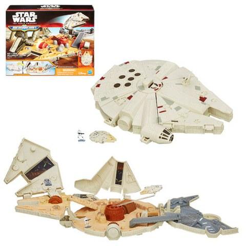 Star Wars The Force Awakens Micro Machines  Millenium Falcon Set