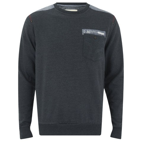 Smith & Jones Men's Smithlands Sweatshirt - Charcoal