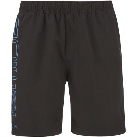 Animal Men's Belos Elasticated Waist Swim Shorts - Black