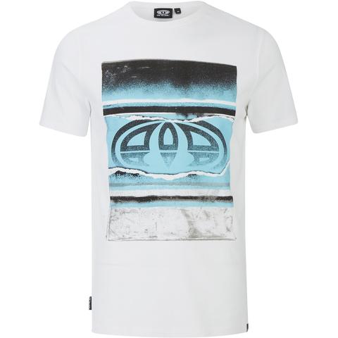 Animal Men's Loffy Graphic Print T-Shirt - White