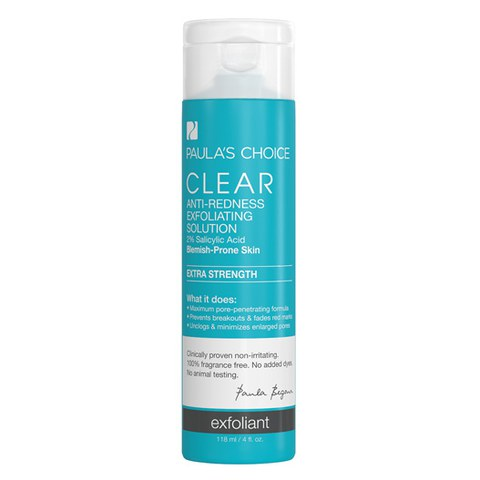 Paula's Choice Clear Extra Strength Anti-Redness Exfoliating Solution with 2% Salicylic Acid (118ml)