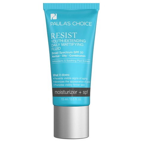 Paula's Choice Resist Youth-Extending Daily Mattifying Fluid SPF 50 - Trial Size (15ml)