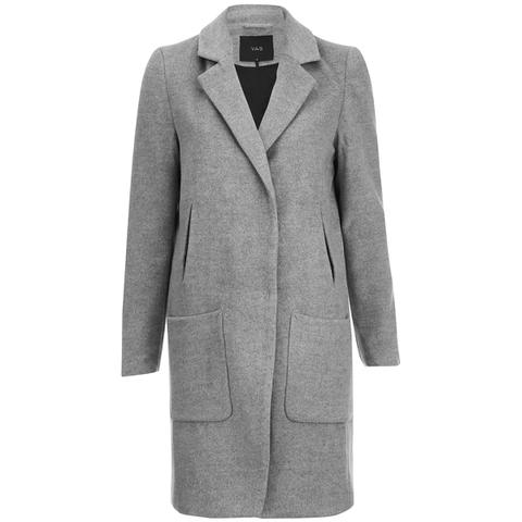 Y.A.S. Women's Monday Coat - Light Grey Melange