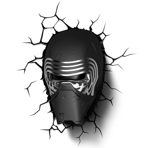 Star Wars The Force Awakens Kylo Ren 3D Light
