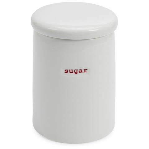Keith Brymer Jones Sugar Storage Jar - White