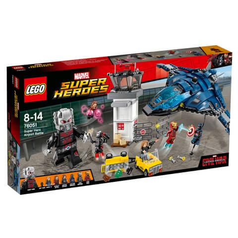 LEGO Marvel Super Heroes: Super Hero Vliegveldduel (76051)