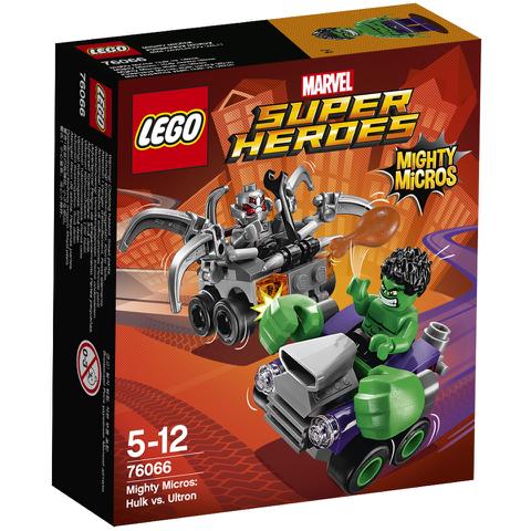 LEGO DC Vs. Marvel Mighty Micros: Hulk Vs. Ultron (76066)