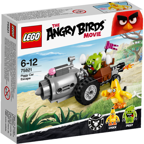LEGO Angry Birds: Piggy auto-ontsnapping (75821)