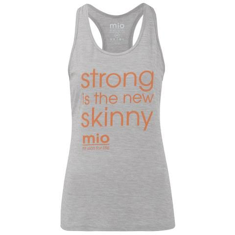 Mio Skincare Women's Performance Slogan Vest - Grey