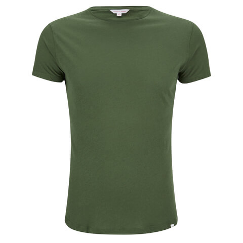 Orlebar Brown Men's OB-T Dipped Hem T-Shirt - Army