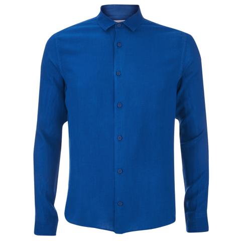 Orlebar Brown Men's Malone Long Sleeve Shirt - Pacific