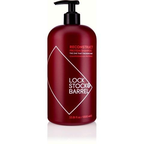 Lock Stock & Barrel Reconstruct Protein Shampoo (1000ml)