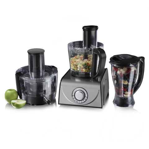 Tower T18001 Food Processor - Black - 1000W