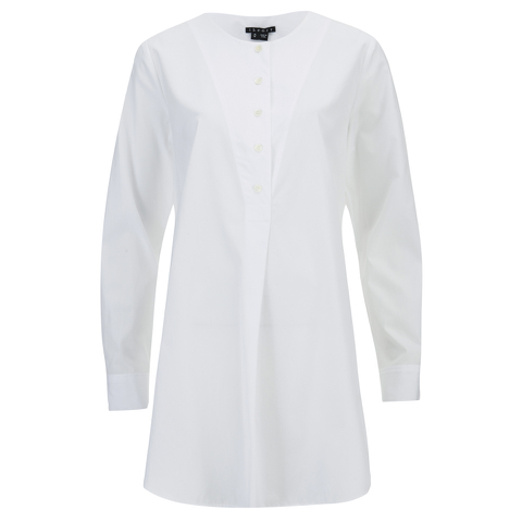 Theory Women's Tillfin Shirt - White