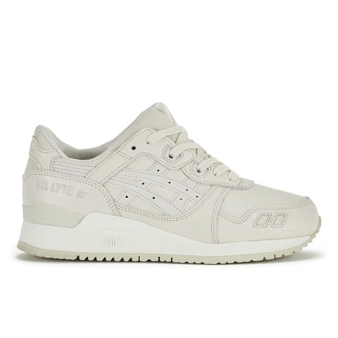 Asics Gel-Lyte III Trainers - Off White/Off White