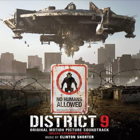 District 9 - The Original Soundtrack OST (1LP) - Black Vinyl