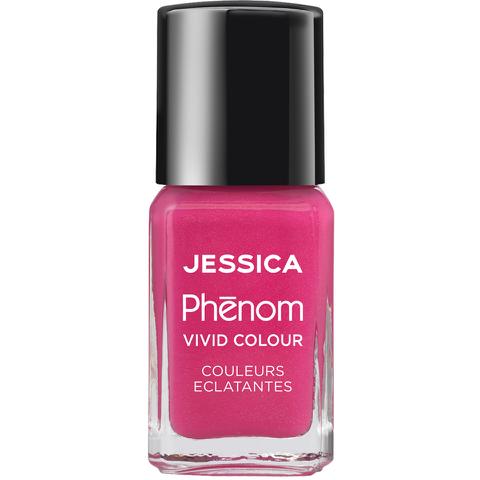 Jessica Nails Cosmetics Phenom Nail Varnish - Barbie Pink (15ml)