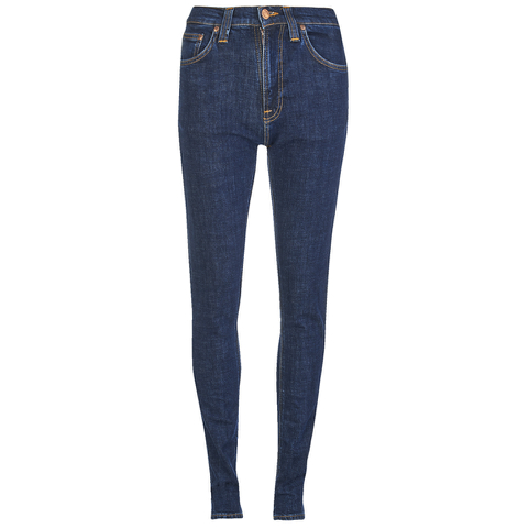 Nudie Jeans Women's Pipe Led Skinny Jeans - Night Shadow