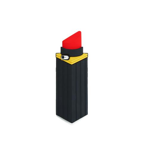 Lulu Guinness Women's Lipstick Iphone 6 Case - Black