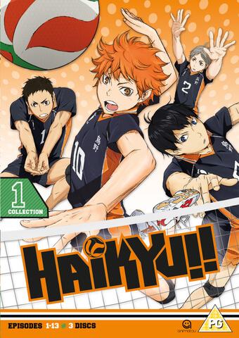 Haikyu!! Season 1 Collection 1 - Episodes 1-13