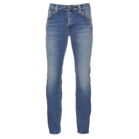 Nudie Jeans Men's Thin Finn Skinny Jeans - Indigo Shuffle