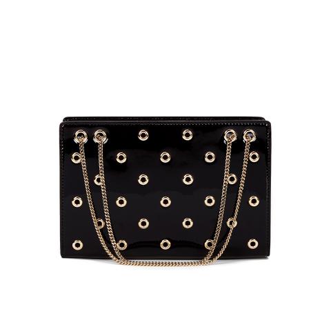 REDValentino Women's Eyelet Shoulder Bag - Black