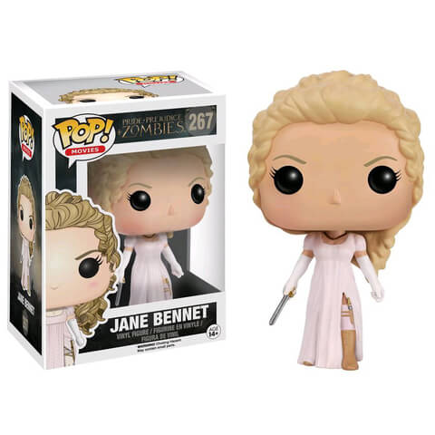 Pride and Prejudice and Zombies Jane Bennet Funko Pop! Figuur
