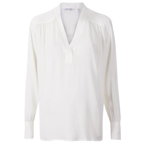 Helmut Lang Women's Jacquard Shirt - White