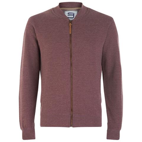 Smith & Jones Men's Brewer Zipped Sweatshirt - Port Marl
