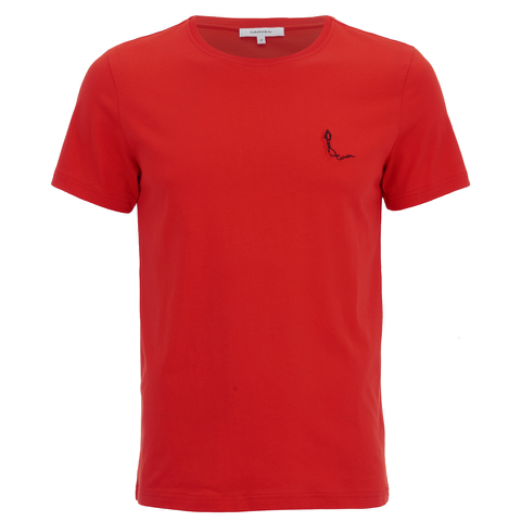 Carven Men's Small Logo T-Shirt - Red