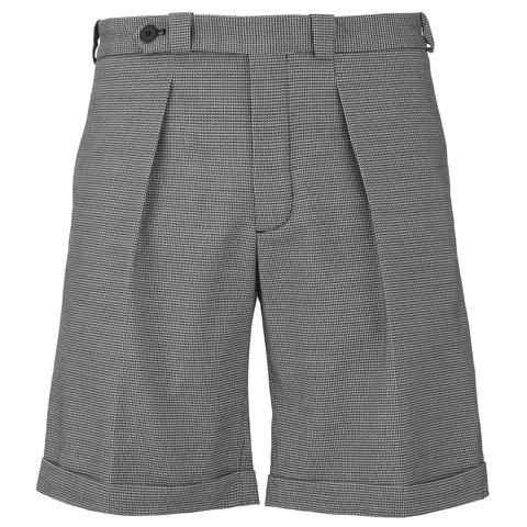 Carven Men's Bermuda Shorts - Black & White