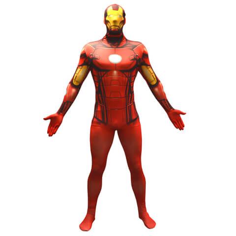 Morphsuit Adults' Basic Marvel Iron Man