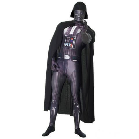 Morphsuit Adults Deluxe Star Wars Darth Vader