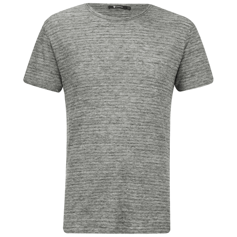 T by Alexander Wang Men's Short Sleeve T-Shirt - Heather Grey