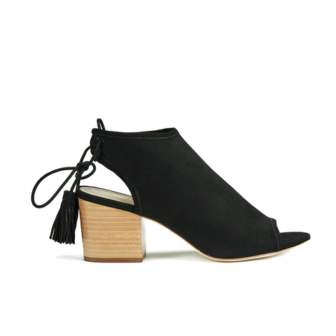 Loeffler Randall Women's Lorelei Block Heeled Sandals - Black
