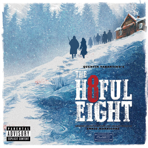Quentin Tarantino's The Hateful 8 - The Original Soundtrack OST (2LP) - Ennio Morricone - Black Vinyl