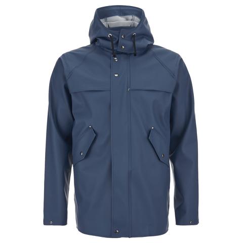 Elka Men's Hellum Rain Jacket - Shelter Blue