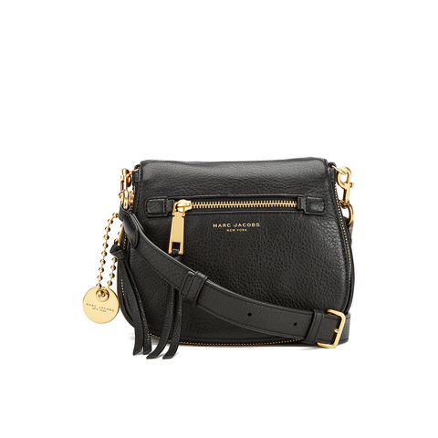 Marc Jacobs Women's Recruit Small Saddle Bag - Black
